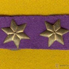 Militaria: DIVISA, GRADUACIÓN DE TENIENTE CORONEL DEL CUERPO CASTRENSE, O ECLESIASTICO DEL EJERCITO, AÑOS 40.. Lote 49602143