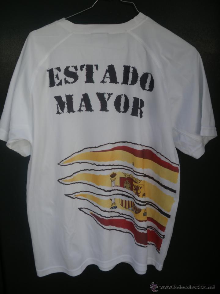 Militaria: Camiseta del Estado Mayor de Infantería de Marina, talla M poliester tecnico,Serigrafiado pordetras - Foto 2 - 49620437