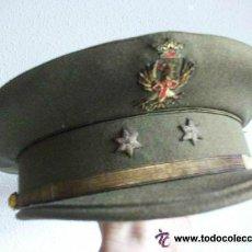 Militaria: GORRA PLATO TENIENTE DEL ET, EPOCA DE FRANCO . DE SUCESORES DE CANTO ( TOLEDO ). Lote 49696541
