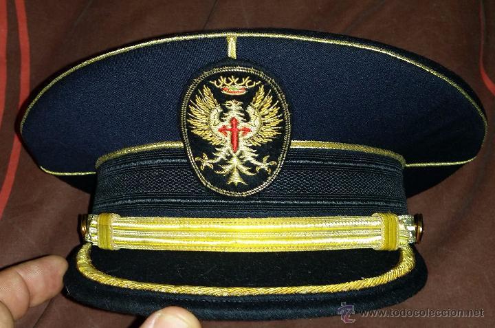 Gorra para uniforme de gran gala del ejercito d - Vendido en Subasta ... 794fd5ec342