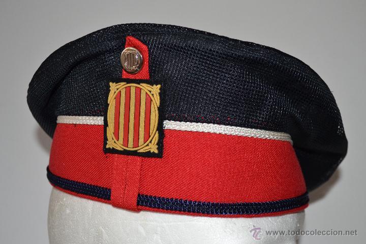 boina de policia. mossos d´esquadra. modelo de - Comprar Boinas y ... c1e62131172