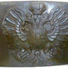 Militaria: HEBILLA AUSTROHUNGARA PRIMERA GUERRA MUNDIAL. Lote 49864586