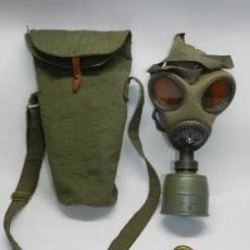 Militaria: MASCARA DE GAS AÑO 1936, GUERRA CIVIL ESPAÑOLA, EJERCITO POPULAR REPUBLICA, EXCELENTE ESTADO DE CONS. Lote 49975481