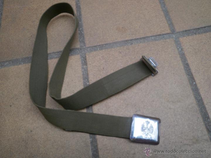 Militaria: Cinturón verde paseo del ejército español. - Foto 2 - 49999681