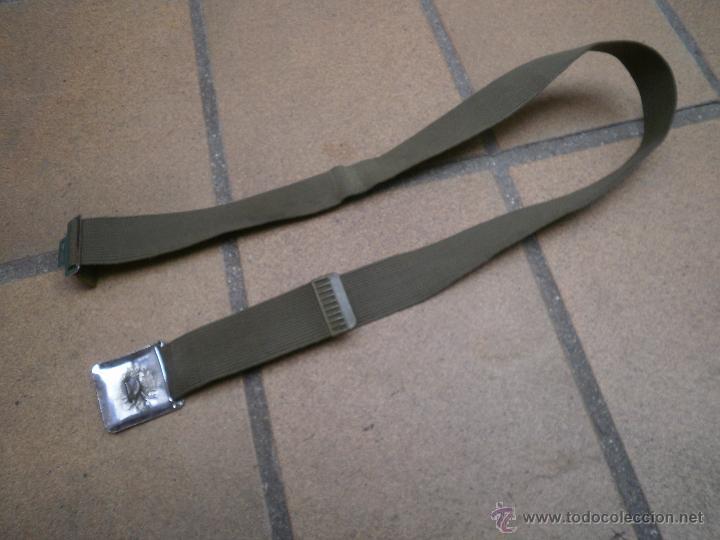 Militaria: Cinturón verde paseo del ejército español. - Foto 3 - 49999681