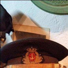 Militaria: GORRA DE JEFE DE SANIDAD NAVAL ÉPOCA DE ALFONSO XLLL Y POSTERIORMENTE REPUBL. Lote 50083424