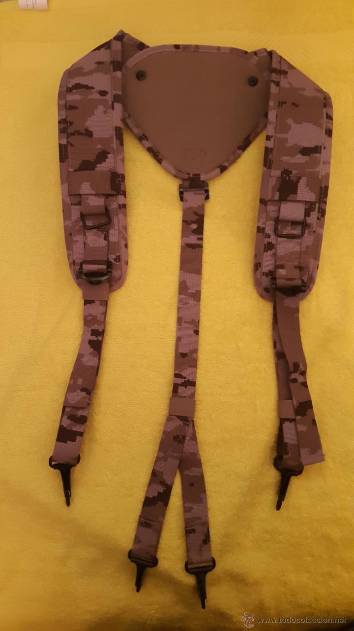TRINCHAS EJERCITO ESPAÑOL CAMUFLAJE ARIDO (Militar - Cinturones y Hebillas )