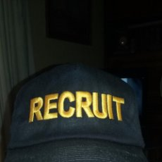 Militaria: US NAVY. GORRA TIPO BEISBOL. RECLUTA. RARA.. Lote 50174995