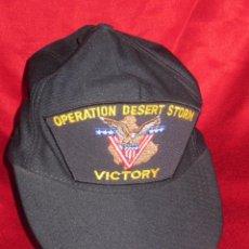 Militaria: OPERATION DESERT STROM .VICTORY. GORRA ORIGINAL US.. Lote 50190149