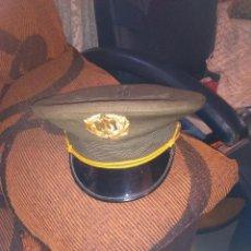 Militaria: GORRA DE PLATO. Lote 50470365
