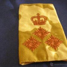Militaria: HOMBRERA DE GENERAL DE BRIGADA BRITÁNICO PARA UNIFORME DESÉRTICO.. Lote 50542039