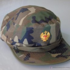 Militaria: GORRA MILITAR. EJÉRCITO ESPAÑOL. CAMUFLAJE BOSCOSO. VALLE TALLA M. MODELO ABIERTO REGULABLE. Lote 50634312