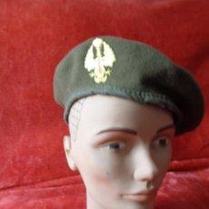 Militaria: BOINA DE TROPA, PRIMERA ÉPOCA JUAN CARLOS I.. Lote 50642574