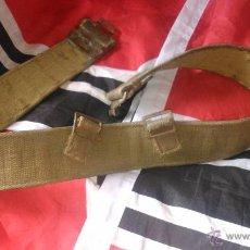 Militaria: CINTURON BRITANICO 2 GM. Lote 50792738