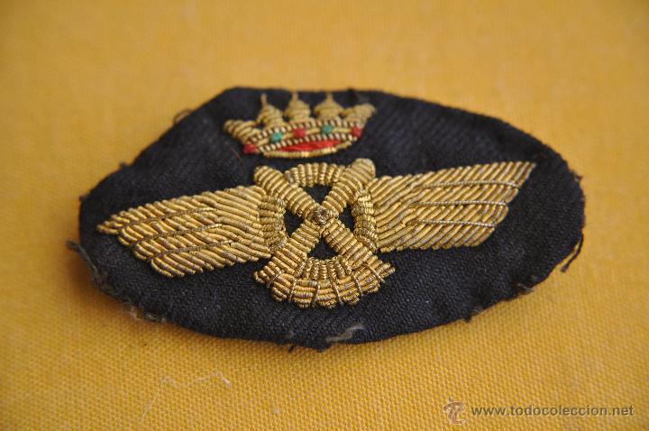 Militaria: AVIACION. ROKISKI DE PILOTO, BORDADO - Foto 2 - 50889197