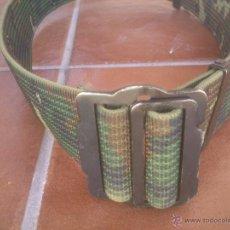 Militaria: CINTURON EJERCITO DE TIERRA CAMUFLAJE. Lote 50988142