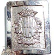 Militaria: HEBILLA POLICÍA MUNICIPAL DE BARCELONA. Lote 51032055