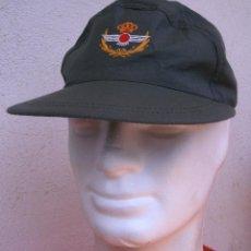 Militaria: GORRA VERDE MANZANA DE VUELO DE AVIACIÓN, GORRA DE FAENA. NUEVA. GORRILLA EJÉRCITO DEL AIRE. T.G. Lote 127474720