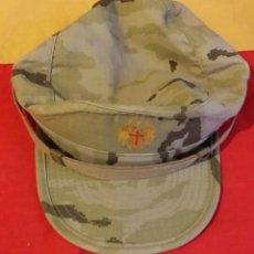 Militaria: GORRA ARIDA FAENA MIMETIZADO ARIDO PIXELADO, TALLA M. AGUILA AMARILLA. Lote 51092296