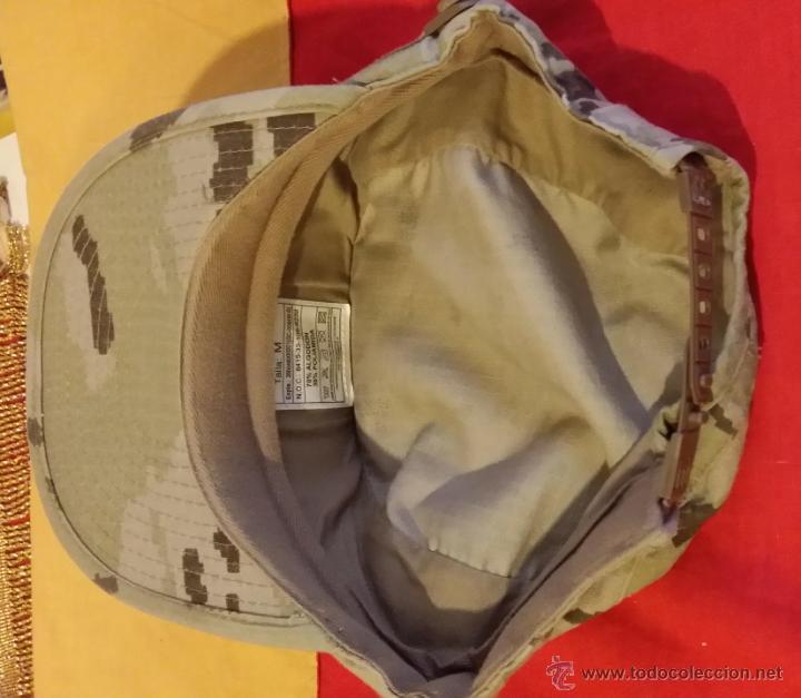 Militaria: GORRA ARIDA FAENA MIMETIZADO ARIDO PIXELADO, TALLA M. AGUILA AMARILLA - Foto 2 - 51092296