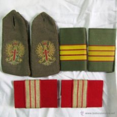 Militaria: 3 PARES DE HOMBRERAS EJÉRCITO DE TIERRA. Lote 51109510