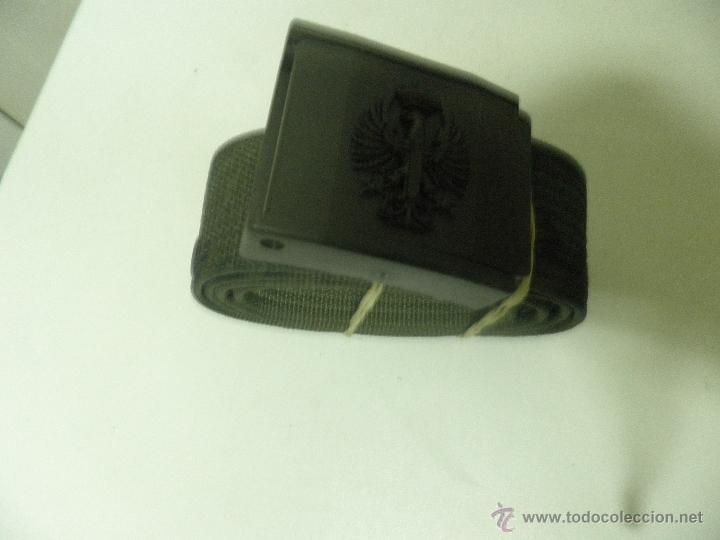 CINTURON MILITAR DE INSTRUCCION , AÑOS 90 MIMETIZADO, NUEVO (Militar - Cinturones y Hebillas )