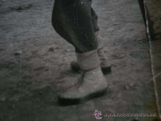 Militaria: Bota alpargatas del ejército español. Guerra Sidi Ifni - Foto 4 - 51438837