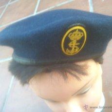 Militaria: GORRA BOINA GORRO MARINA ESPAÑOLA. Lote 51499499