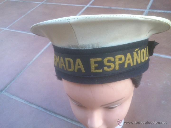 GORRA ARMADA ESPAÑOLA TIPO LEPANTO MARINA (Militar - Boinas y Gorras )