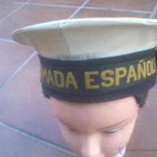 Militaria: GORRA ARMADA ESPAÑOLA TIPO LEPANTO MARINA. Lote 51499565