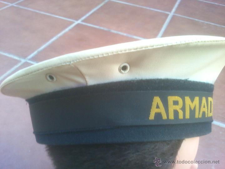 Militaria: Gorra Armada española tipo lepanto marina - Foto 4 - 51499565