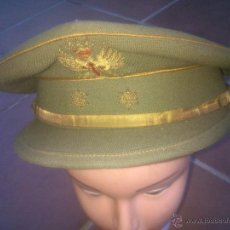 Militaria: ANTIGUA GORRA DE PLATO DE TENIENTE DEL EJÉRCITO DE TIERRA. Lote 51499598