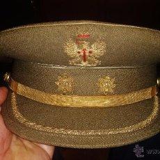 Militaria: GORRA DE PLATO DEL EJERCITO DE TIERRA DE TENIENTE CORONEL,EPOCA DE FRANCO. Lote 51884361