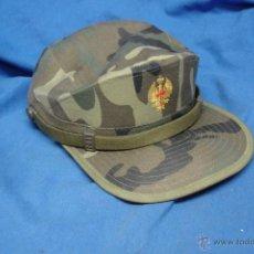 Militaria: GORRA DE FAENA DEL EJERCITO ESPAÑOL TALLA M - MANUFACTURAS VALLE. Lote 52163166