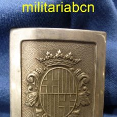 Militaria: HEBILLA DE LA GUARDIA URBANA DE BARCELONA. Lote 52286798