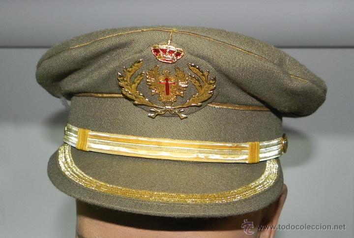 antigua gorra de plato de oficial del ejercito - Comprar Boinas y ... 33f4c64cdf7