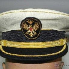 Militaria - GORRA PARA UNIFORME DE GRAN GALA DEL EJERCITO DE TIERRA, EPOCA DE FRANCO, PERFECTO ESTADO CON FUNDA - 52498841