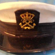 Militaria: GORRA DE PLATO DE MARINO. Lote 52639174