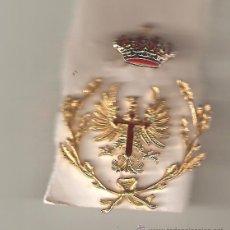 Militaria: EMBLEMA GORRA OFICIAL EJERCITO DE TIERRA (TRES PIEZAS). Lote 52935617