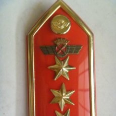 Militaria: AVIACION : HOMBRERA DE CAPITAN PILOTO DE AVIACION. EPOCA DE FRANCO. Lote 213740586
