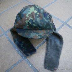 Militaria: GORRO INVIERNO DEL EJÉRCITO ALEMÁN. BUNDESWEHR FLECKTARN. Lote 53164307