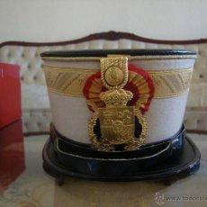 Militaria: SOMBRERO DE GALA DE LA GUARDIA REAL. Lote 53205113