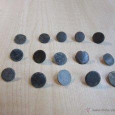 Militaria - 15 botones de finales del siglo XVIII o principios del XiX - 53371766