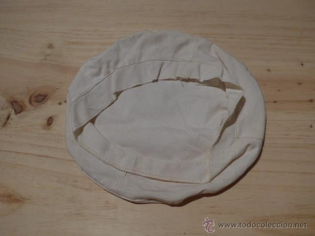 Militaria: Antigua funda blanca de gorra de plato - Foto 2 - 53446596