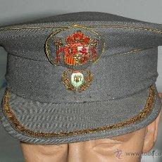 Militaria: ANTIGUA GORRA DE PLATO DE FUNCIONARIO DEL AYUNTAMIENTO DE SALAMANCA, REALIZADO POR CASA ARGÜESO, SAL. Lote 53658161