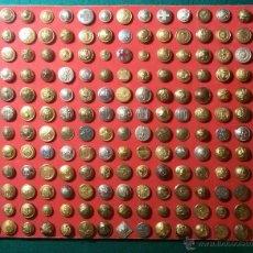 Militaria - coleccion de botones expectacular - lote boton militar ......total 264 - 53711923