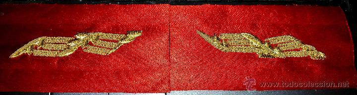 PAREJA DE BORDADOS PARA FAJIN DE GENERAL (Militar - Otros relacionados con uniformes )