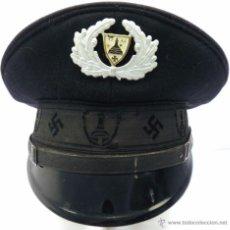 Militaria: GORRA DE PLATO ALEMANA SCHIRMMÜTZE PERÍODO III REICH. Lote 53760058
