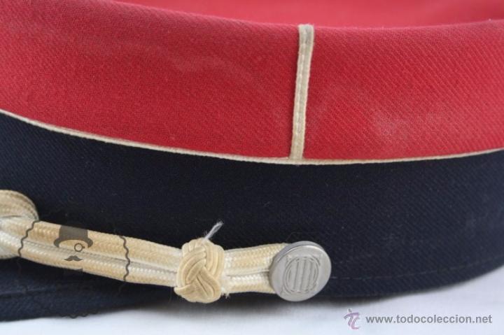 Militaria: Gorra de Academia de los Mossos d'Esquadra - Rojo - Generalitat Catalunya - Medidas 19,5 Cm Diám - Foto 5 - 53951811