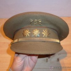 Militaria: ANTIGUA GORRA DE PLATO ORIGINAL DE CORONEL INFANTERIA, EPOCA ALFONSO XIII - REPUBLICA Y GUERRA CIVIL. Lote 53981218